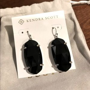 Kendra Scott Esme Silver Drop Earrings